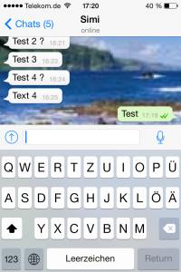 Wieso ignoriert er mich test